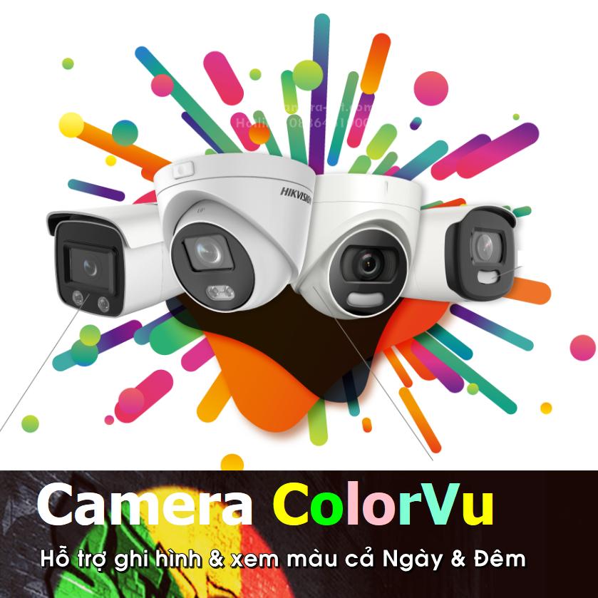 Camera ColorVu - Camera xem đêm có màu
